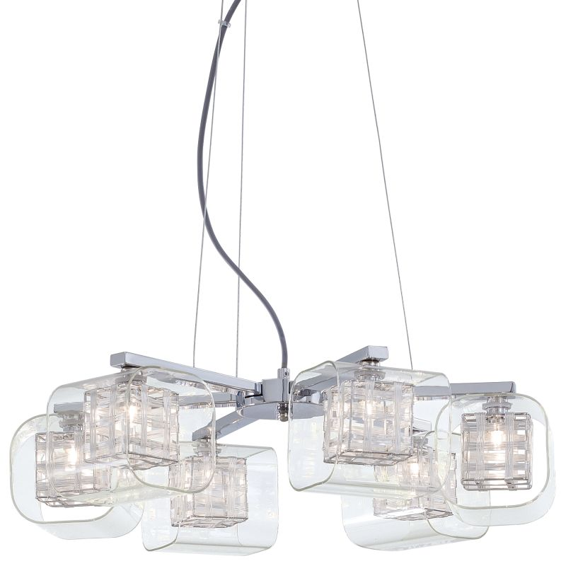 Kovacs P806-077 Chrome Contemporary Jewel Box Chandelier