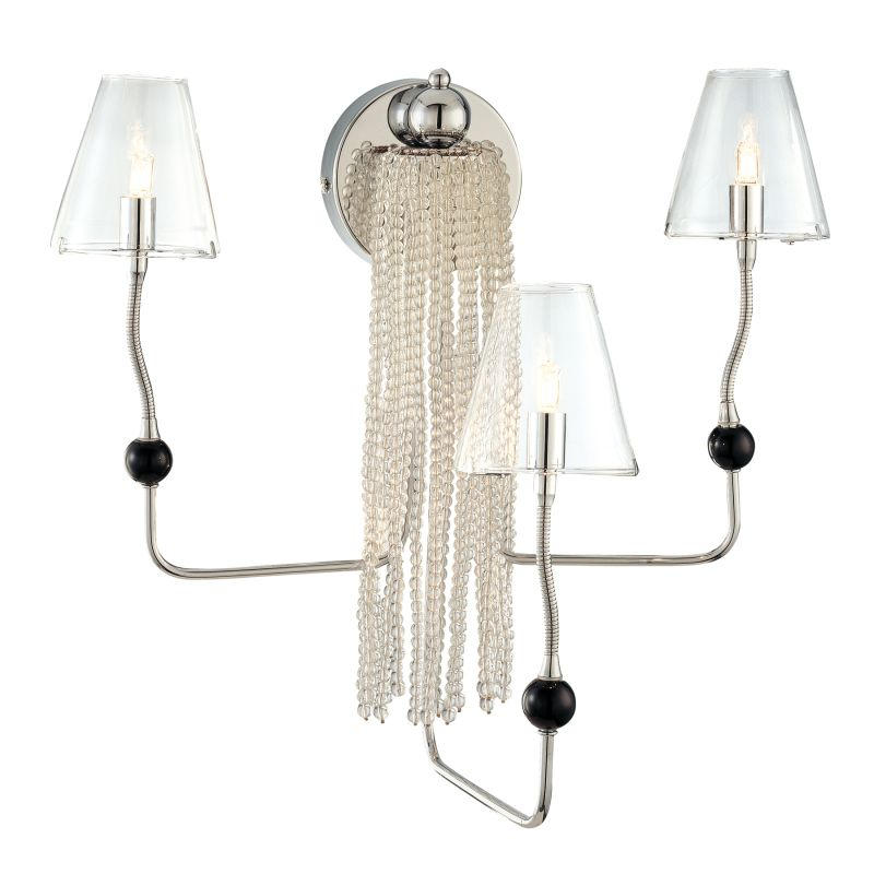 Kovacs P873-077 5 Light Wall Sconce from the Complex Collection Chrome