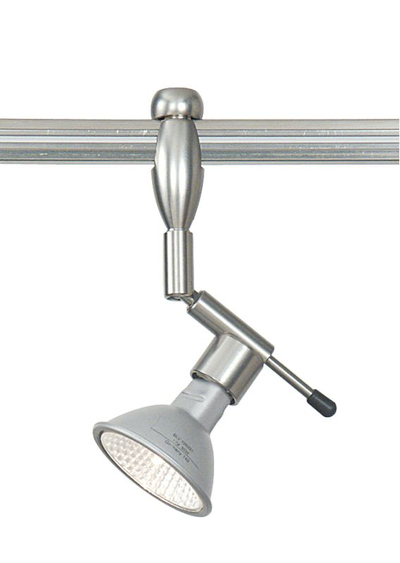 "LBL Lighting Reflekto Swivel I Single Light 360° Swivel Bare Track Sale $99.00 ITEM: bci1086310 ID#:HB315SI Specially coated bare MR16 lamps. Frosted glass or backlight obscuring black or silver. Includes specified low-voltage lamp. 12 volt only. Mounting options: Fusion Jack - Includes a Fusion Jack (FSJ) compatible connector, and no transformer. For use with LBL Fusion Jack systems. Monopoint - A monopoint canopy (MPT), with internal transformer, will be included, creating a self-contained, fully-functional light. Monorail - Includes a Single-Circuit Monorail (MRL) connector, and no transformer. For use with LBL Single-Circuit Monorail Systems. Two-Circuit Rail - Includes a Two-Circuit Monorail (MR2) connector, and no transformer. For use with LBL Two-Circuit Monorail Systems. Color options: Black, Frost, Silver Finish options: Bronze, Satin Nickel Size: W 1.5"", H 1.9"" Bulb Information: Requires 1 50w MR16 base Halogen bulb (included) Stem Length Options: 1"", 6"" 12"" 24 Volt Transformer: Custom order, please call customer service :"
