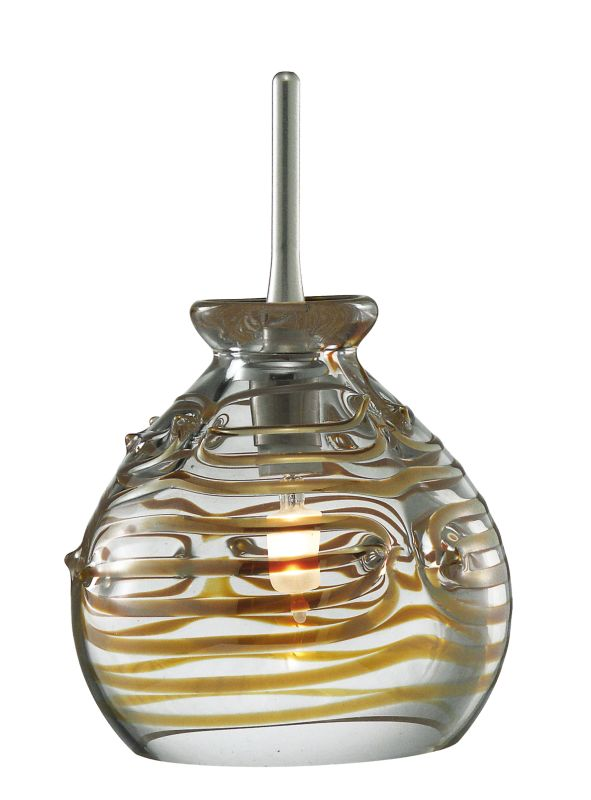LBL Lighting Gelato Single Light Sphere-Shaped Mini Pendant for Sale $264.00 ITEM: bci1085898 ID#:HS271CR :