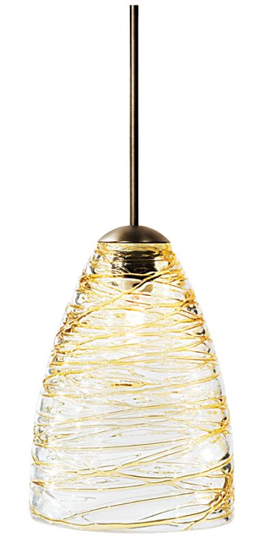 LBL Lighting Flow Single Light Cone-Shaped Mini Pendant for Sale $184.50 ITEM: bci1085981 ID#:HS377AM :