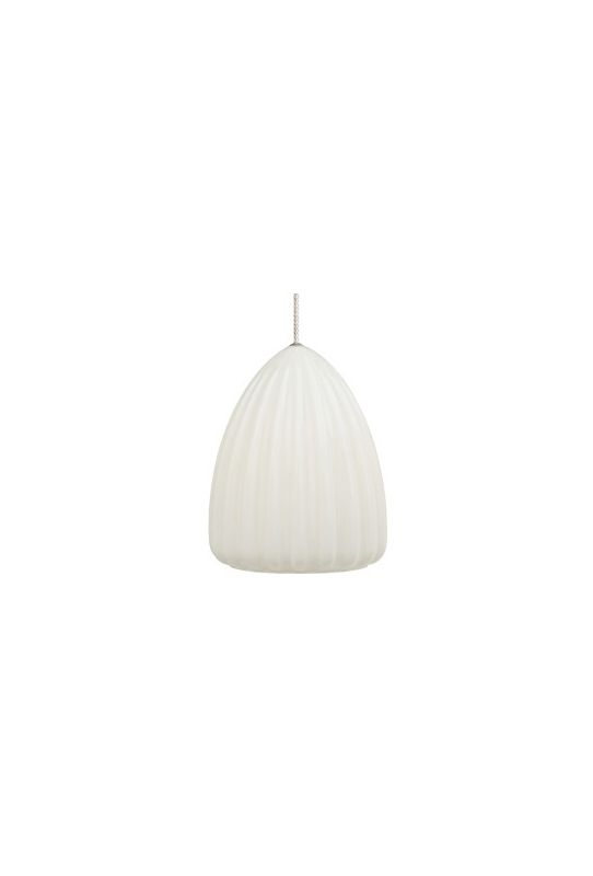 LBL Lighting Ruffle Suspension Single Light Down Lighting Dome Pendant Sale $292.50 ITEM: bci1102672 ID#:LF490OP :