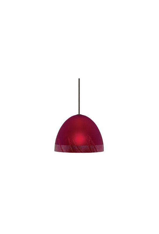 LBL Lighting Mojave Single Light Dome-Shaped LED Option Mini Pendant