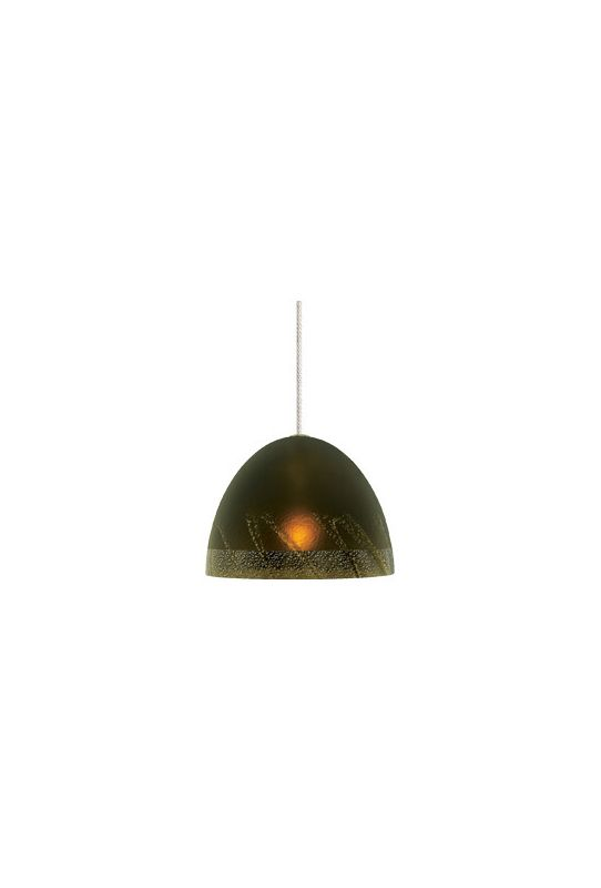 LBL Lighting Mojave Single Light Dome-Shaped LED Option Mini Pendant