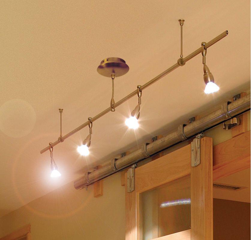 LBL Lighting Straight Rail Monorail System Kit Single Pre Configured