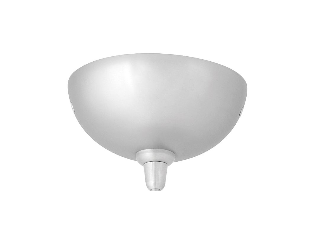 LBL Lighting 4 Inch LED Dome Canopy Fusion Jack Low-Voltage LED Canopy