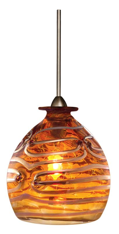 LBL Lighting Gelato Single Light Sphere-Shaped Mini Pendant for Sale $276.00 ITEM: bci1085896 ID#:HS271AM :