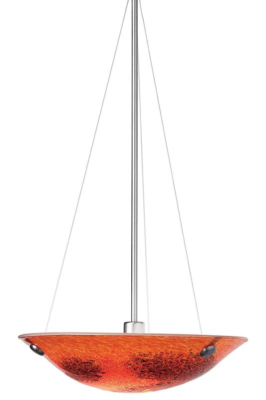 "LBL Lighting Veneto Suspension Single Light Down Lighting Bowl Full Sale $871.20 ITEM: bci1102373 ID#:HS317RD Product Features: Finish: Amber , Light Direction: Down Lighting , Width: 16.5"" , Height: 4.7"" , Bulb Type: Halogen , Number of Bulbs: 1 , Fully covered under LBL Lighting warranty , Location Rating: Indoor Use :"