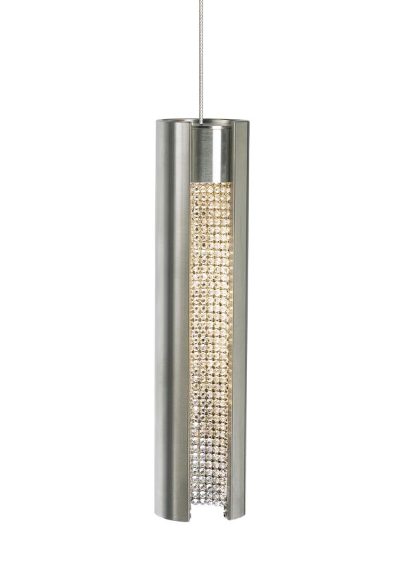 LBL Lighting Dolly LED Monopoint 1 Light Dolly Monopoint Pendant Satin