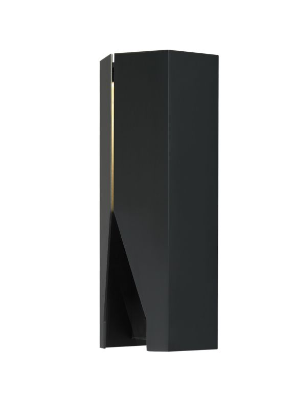 LBL Lighting Tara 15 LED 277V 1 Light Outdoor Wall Sconce Black