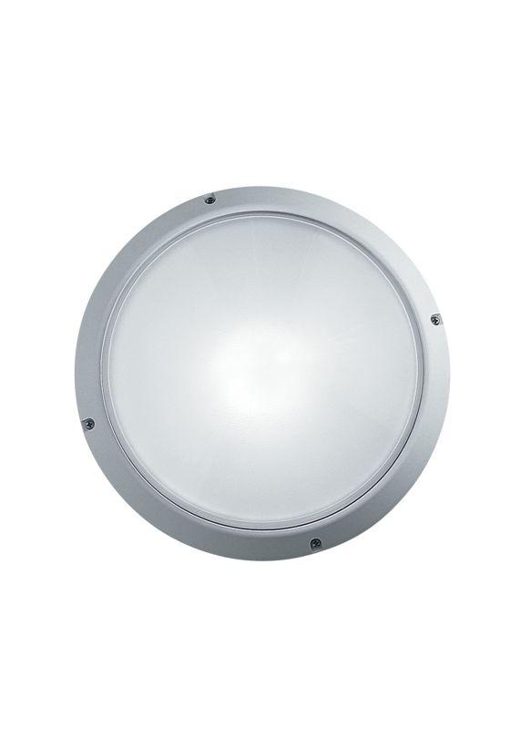 LBL Lighting Superdelta Tondo 1 Light Outdoor Medium Wall Light Black