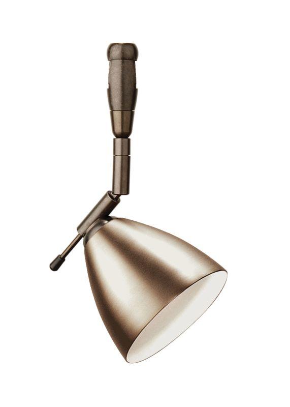 LBL Lighting Orbit Swivel I LED Fusion Jack 1 Light Track Head Bronze