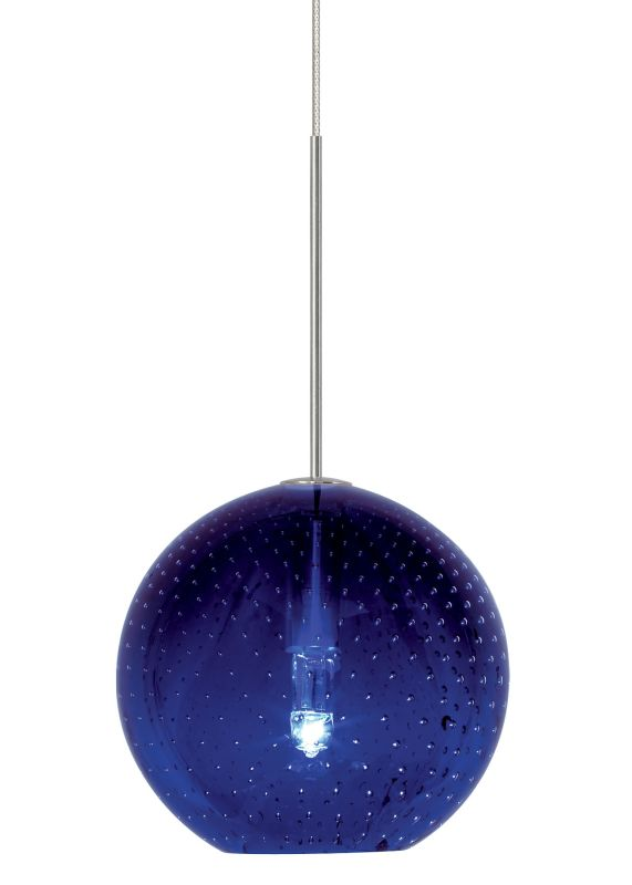 LBL Lighting Bulle Blue Monopoint 1 Light Track Pendant Satin Nickel Sale $276.80 ITEM: bci2037339 ID#:HS348BUSC1B35MPT UPC: 77073330761 :