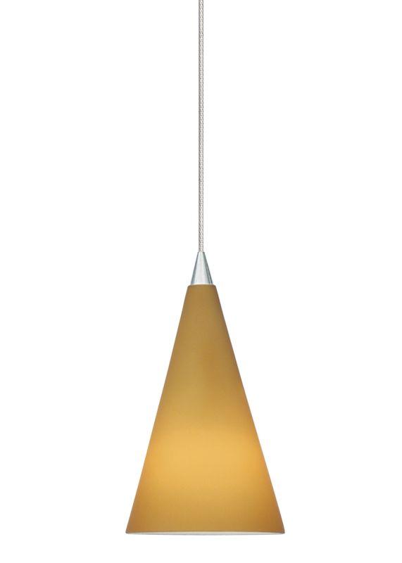 LBL Lighting Cone III Amber LED Monopoint 1 Light Track Pendant Satin Sale $301.60 ITEM: bci2037379 ID#:HS351AMSCLEDS830MPT UPC: 77073545516 :