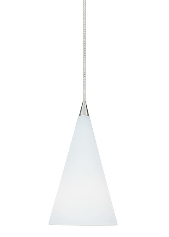 LBL Lighting Cone III Opal LED Monorail 1 Light Track Pendant Satin Sale $240.00 ITEM: bci2037397 ID#:HS351OPSCLEDS830MRL UPC: 77073545592 :