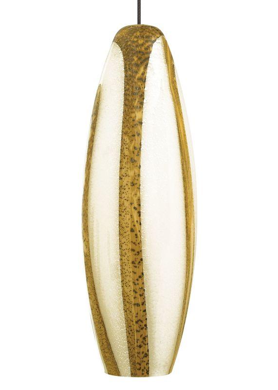 LBL Lighting Rachel Opal/Amber Monorail 1 Light Track Pendant Bronze