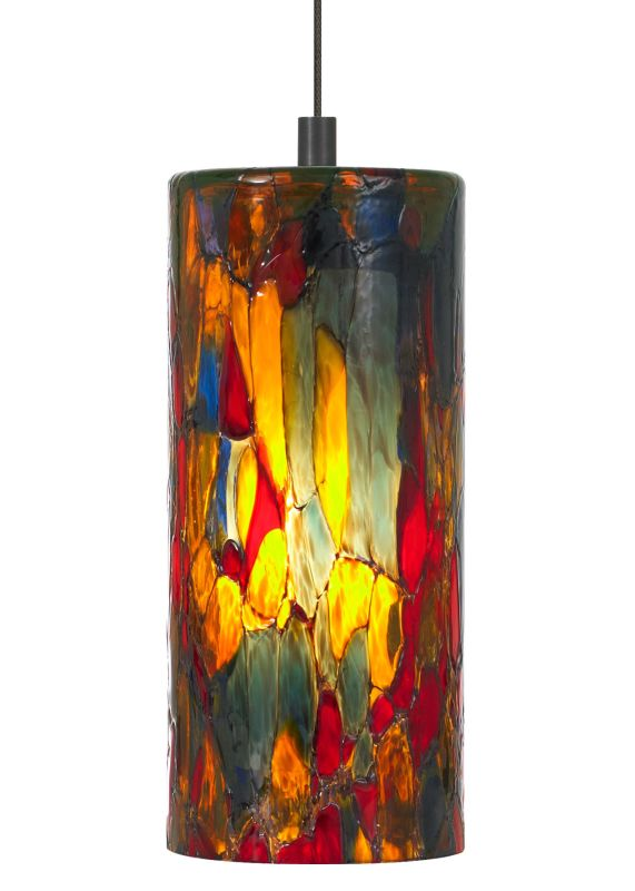 "LBL Lighting Abbey Blue-Amber-Red 50W Monopoint 1 Light Track Pendant Sale $346.40 ITEM: bci2037870 ID#:HS459BARBZ1B50MPT UPC: 77073528410 LBL Lighting Abbey Blue-Amber-Red 50W Monopoint 1 Light Track Pendant Showcasing a gorgeous translucent stained glass style Blue-Amber-Red cylinder, this stunning pendant will add beauty to any décor. This fixture features opal inner glass housing an included 50 watt xenon bulb. Each Monopoint lighting fixture includes a single-point canopy with built-in transformer right out of the box for a quick and easy installation. LBL Lighting Abbey Blue-Amber-Red 50W Monopoint Features: Pictured with Bronze Finish System Type: Monopoint Blue / Amber / Red Cylinder Shaped Glass Includes 4.3"" Canopy and Transformer 72"" Field-Cuttable Wire Included LBL Lighting Abbey Blue-Amber-Red 50W Monopoint Specifications: Requires (1) x 50 Watt GY6.35 Base Xenon Bulb (Included) Voltage: 12 Wattage: 50 Height: 7.5"" Diameter: 3.5"" Shade Height: 7.5"" Shade Diameter: 3.5"" Maximum Overall Height: 79.5"" UL Listed for Dry Location For 38 years, LBL Lighting has built their business on trust. Since its inception as a family business in 1971 LBL Lighting has continued to be one of the recognized leaders of the lighting industry and a premier choice for lighting designers throughout North America. Developed with beauty, originality, and quality in mind, their designs celebrate the functional and artistic nature of lighting with eclectic designs and decorative forms. :"