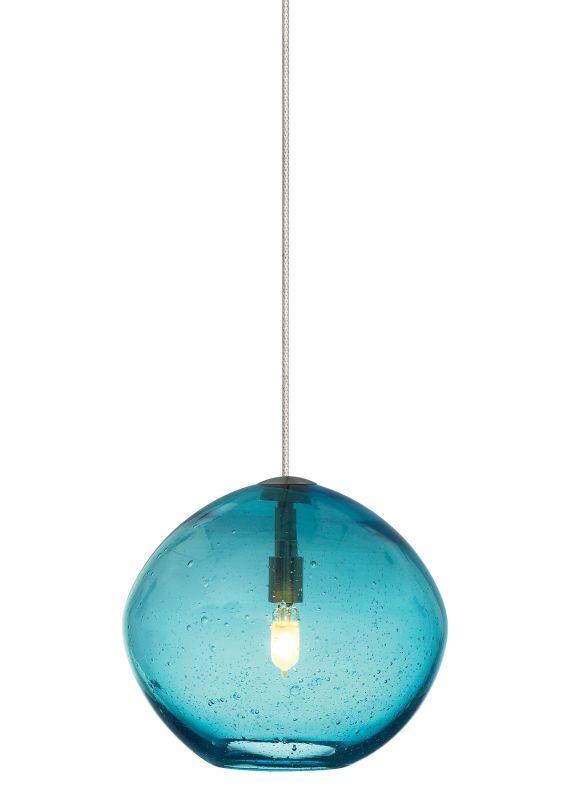 LBL Lighting Mini-Isla Aqua Monorail 1 Light Track Pendant Satin