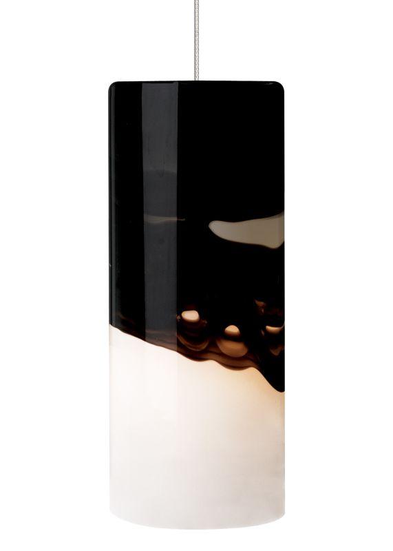 LBL Lighting Rio LED Gray / Purple 6W 2-Circuit Rail 1 Light Mini