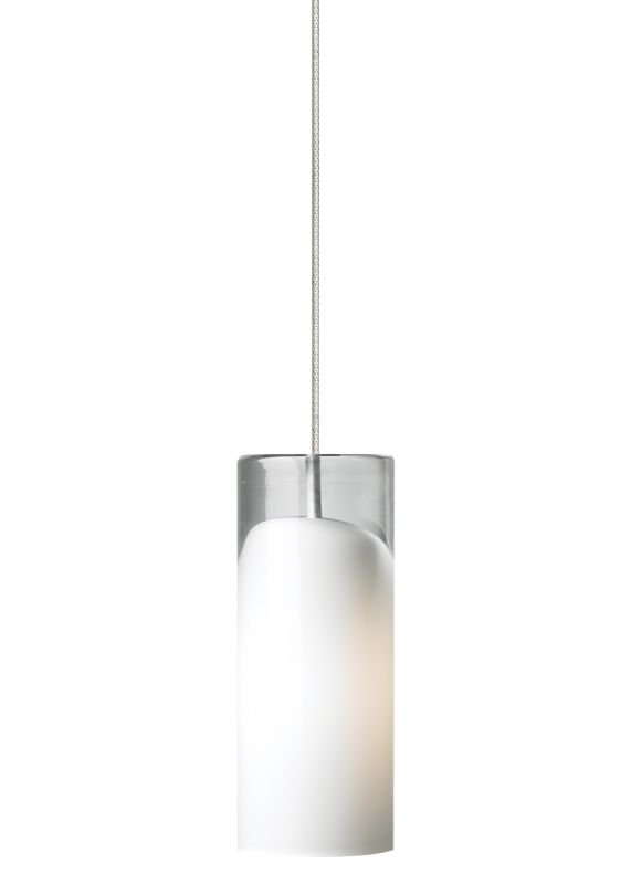 LBL Lighting Horizon Opal 50W Monopoint 1 Light Mini Pendant Satin