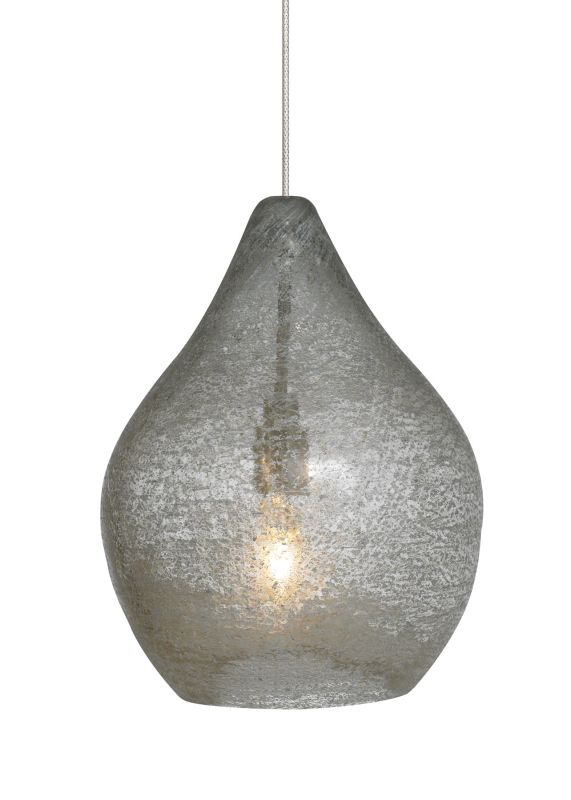 LBL Lighting Relic No. 1 Clear Fusion Jack 1 Light Track Pendant Satin