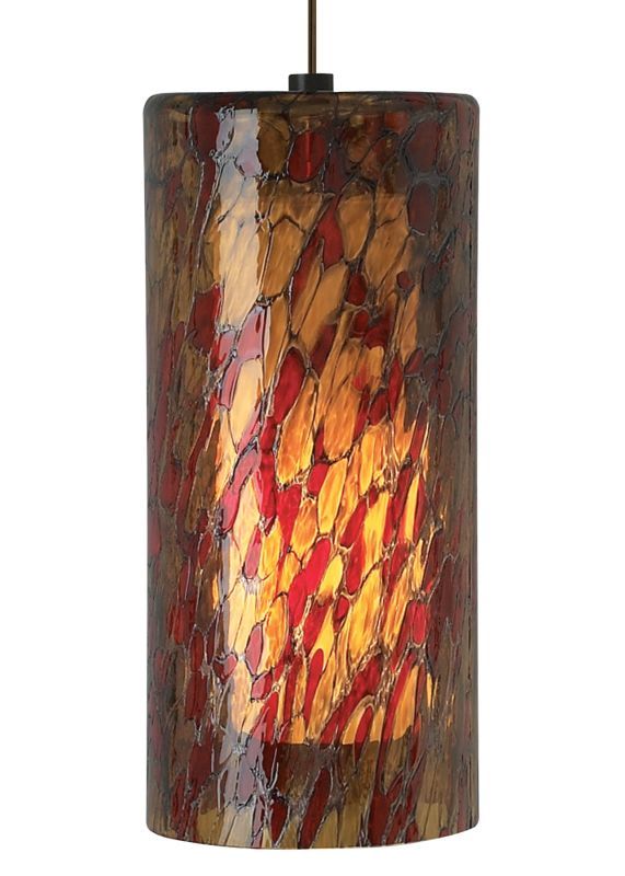 LBL Lighting Abbey Grande Amber-Red 75W 1 Light Foyer Pendant Satin Sale $428.80 ITEM: bci2039071 ID#:LF500AMRSC2D75 UPC: 77073605579 :