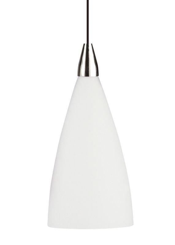 LBL Lighting Drop Opal 100W 1 Light Down Light Pendant Black Indoor Sale $164.80 ITEM: bci2039097 ID#:LF5490OPBL2D100 UPC: 77073490816 :