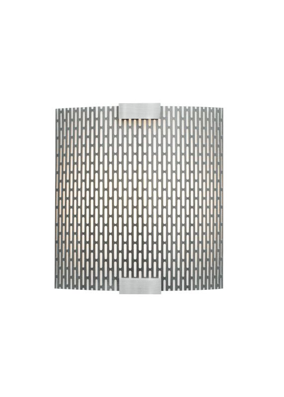 LBL Lighting Omni Cover Small Meta LED 277V 1 Light Wall Sconce Silver Sale $457.60 ITEM: bci2039195 ID#:LW559METSILED277 UPC: 77073884592 :