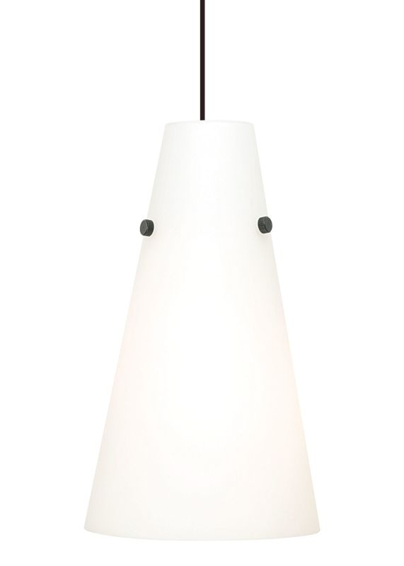 LBL Lighting Kona II Opal 18W 1 Light Down Light Pendant Satin Nickel Sale $218.40 ITEM: bci2039289 ID#:PF5180OPSC18Q UPC: 77073126654 :