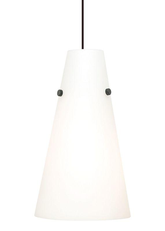 LBL Lighting Kona II Opal 18W 1 Light Down Light Pendant White Indoor Sale $218.40 ITEM: bci2039290 ID#:PF5180OPWH18Q UPC: 77073126678 :