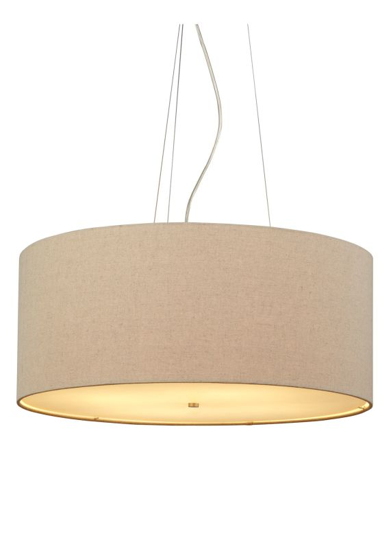 LBL Lighting Fiona Grande Pebble 27W 4 Light Foyer Pendant Satin
