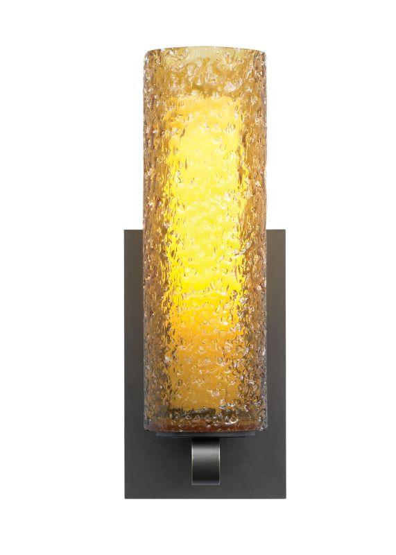 LBL Lighting Mini-Rock Candy Cylinder Wall Amber 26W 277V 1 Light Wall Sale $432.80 ITEM: bci2039639 ID#:PW623AMBZCF2HE UPC: 77073846460 :