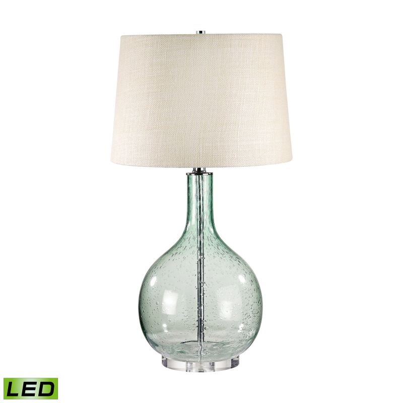 "Lamp Works 230-LED Glass 1 Light 28"" Tall LED Table Lamp with Hardback Sale $196.00 ITEM: bci2930358 ID#:230G-LED UPC: 810937003940 :"