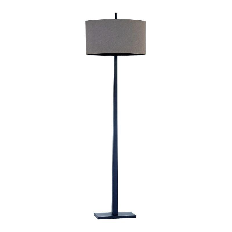 "Lamp Works D2915 Wheatstone 1 Light 64"" Tall Floor Lamp with Tan Sale $278.00 ITEM: bci2930543 ID#:D2915 UPC: 748119095684 :"