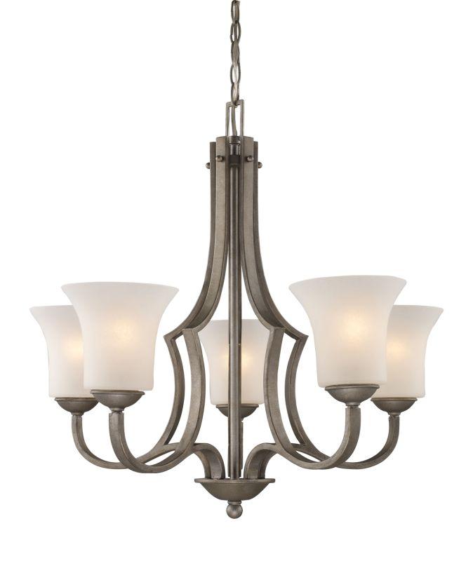 Landmark Lighting 08135 Contemporary / Modern Five Light Chandelier