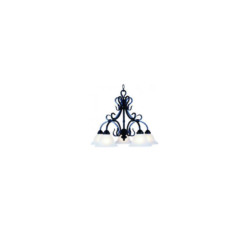 Landmark Lighting 245 Five Light Chandelier from the Buckingham