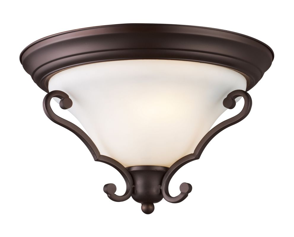 Landmark Lighting 67004-2 Two Light Down Lighting Flush Mount Ceiling