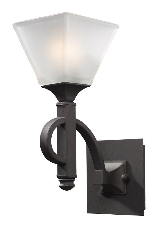 Landmark Lighting 69010 Fremont 1 Light Vanity In Oiled Bronze From