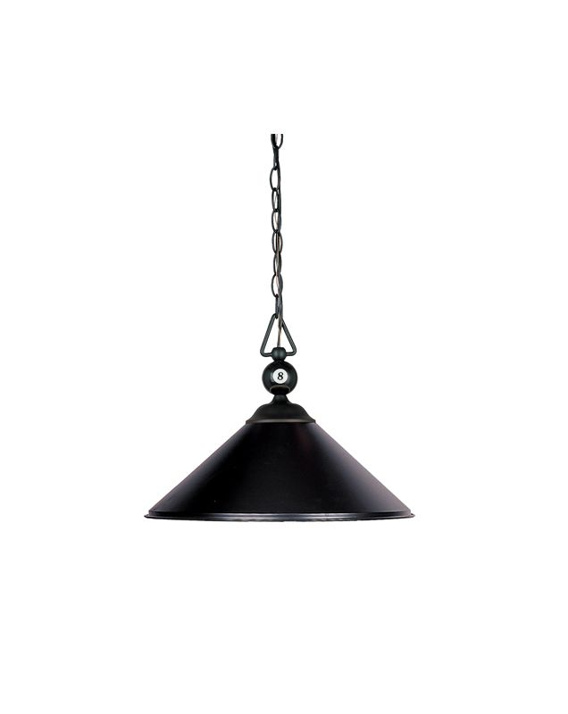 Landmark Lighting 190/P-BK Contemporary / Modern 1 Light