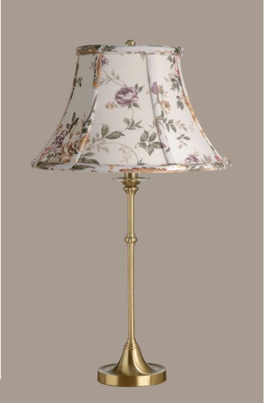 Laura Ashley Sll224 Btb012 Satin Brass Austen 14 Quot Floral