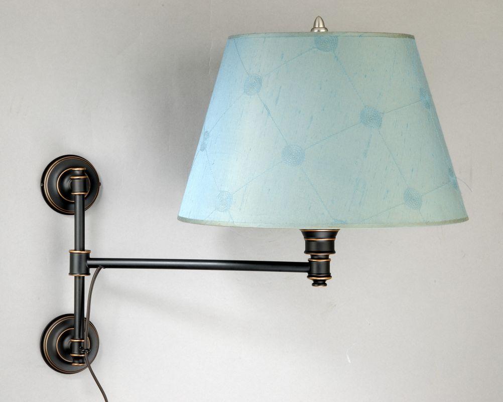 Laura Ashley WSST1169 Espresso Bronze State Street 1 Light Adjustable Wall Light ...