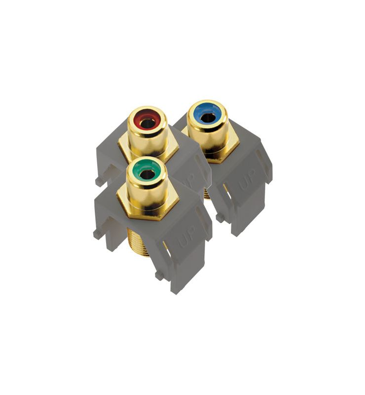 Legrand ACRGBRCAFM1 Component Video RCA to F Kit Magnesium Electrical Sale $25.98 ITEM: bci2667235 ID#:ACRGBRCAFM1 :
