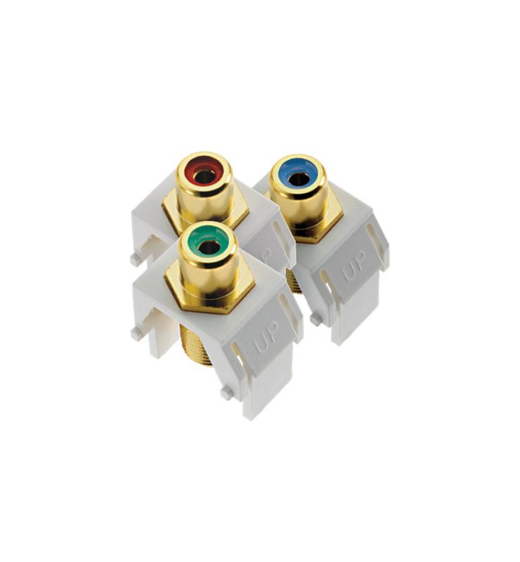 Legrand ACRGBRCAFW1 Component Video RCA to F Kit White Electrical Sale $22.08 ITEM: bci2667236 ID#:ACRGBRCAFW1 :