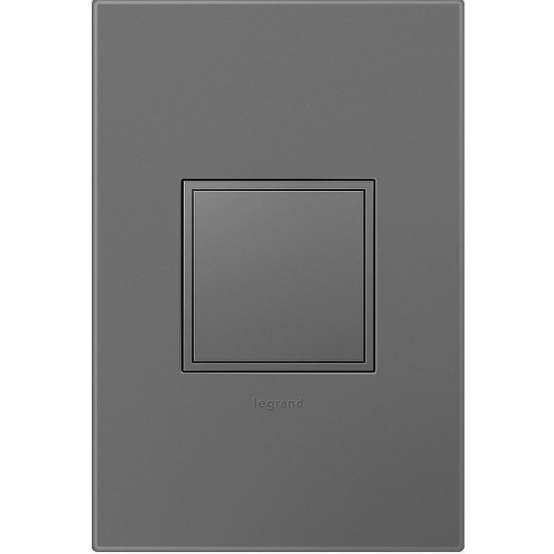 Legrand AKT0015 Adorne Pop-Out Outlet with Magnesium 1-Gang Wall Plate