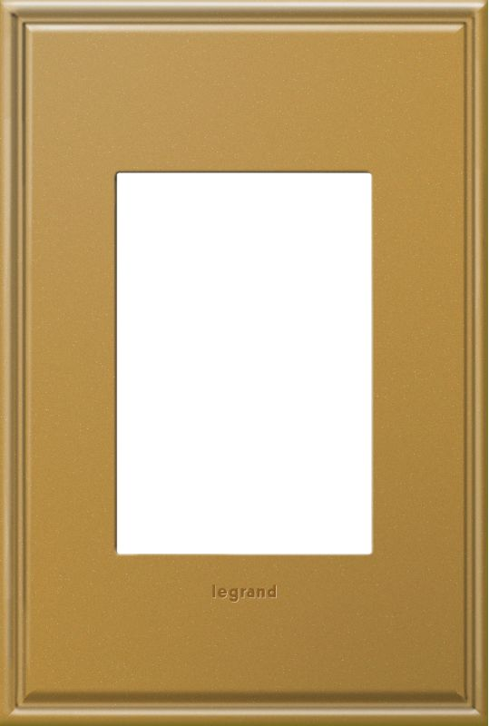 Legrand AWC1G3NB4 adorne 1 Gang Metal Wall Plate - 4.56 Inches Wide Sale $34.68 ITEM: bci2629154 ID#:AWC1G3NB4 :