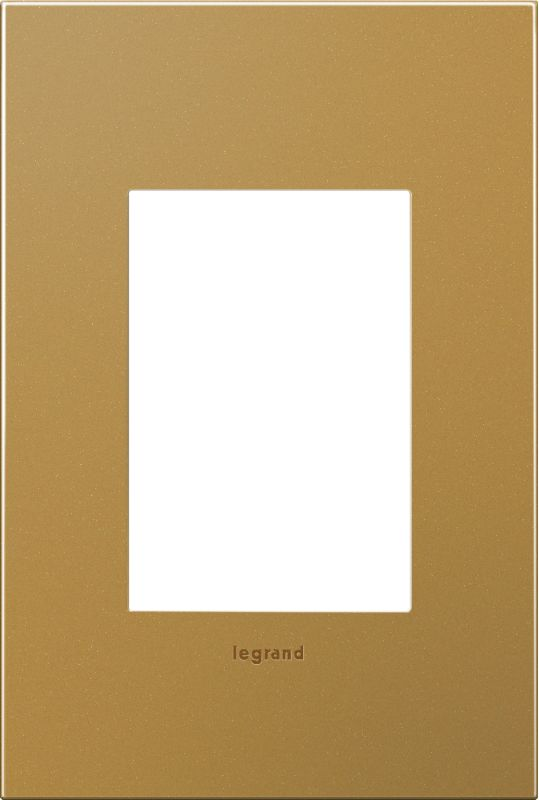 Legrand AWC1G3SB4 adorne 1 Gang Metal Wall Plate - 4.56 Inches Wide Sale $34.68 ITEM: bci2629195 ID#:AWC1G3SB4 :