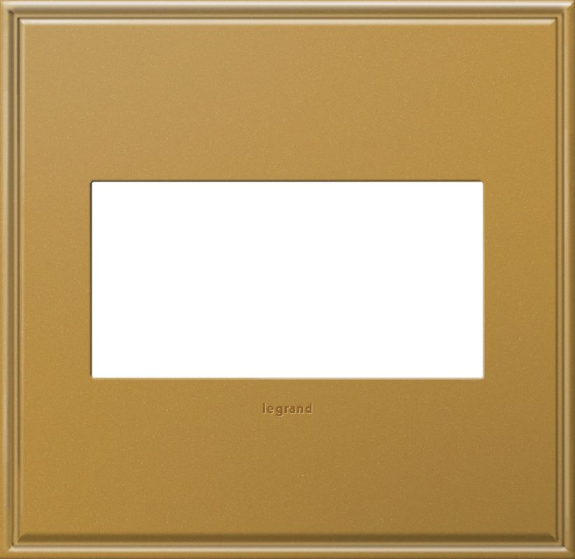 Legrand AWC2GNB4 adorne 2 Gang Metal Wall Plate - 6.56 Inches Wide Sale $56.68 ITEM: bci2629277 ID#:AWC2GNB4 :