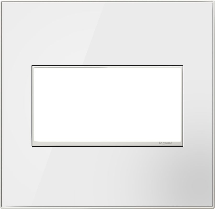 Legrand AWM2GMWW4 adorne 2 Gang Glass Wall Plate - 6.9 Inches Wide Sale $58.98 ITEM: bci2629187 ID#:AWM2GMWW4 :