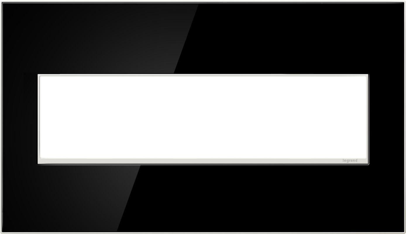 Legrand AWM4GMB4 adorne 4 Gang Glass Wall Plate - 6.58 Inches Wide Sale $91.68 ITEM: bci2629109 ID#:AWM4GMB4 :