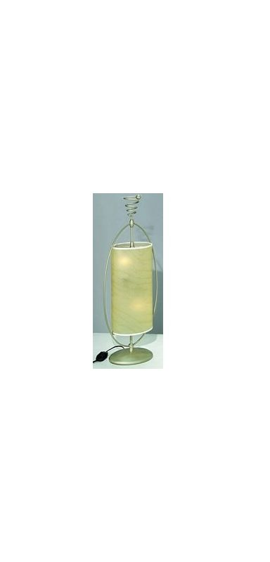 Lite Source LS-3786 Accent Table Lamp from the Curly Collection Silver
